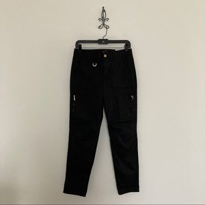 WHBM Slim Fit Cropped Utility Pants Size 2